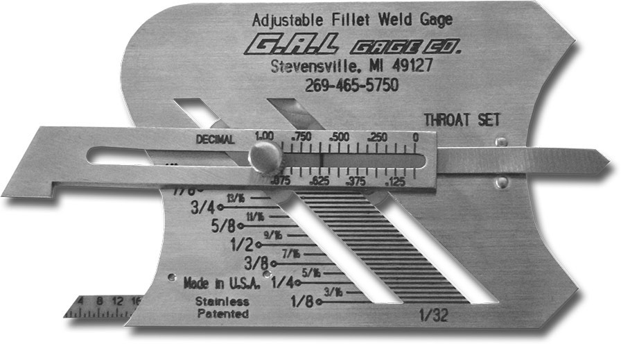 Adjustable-Fillet-Weld-Gauge